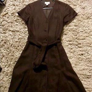 Talbots Brown Dress